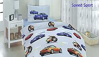 Комплект постельного белья для детей полуторный SpeedSport (ДП-SpeedSport)
