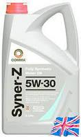 Моторное синтетическое масло для дизельных и бензиновых двигателей  Comma Syner -Z 5w30 4l