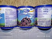 Оливки чорні різані 1560г нетто