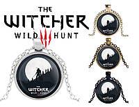 Подвеска стеклянная The Witcher Ведьмак Геральт, фото 1