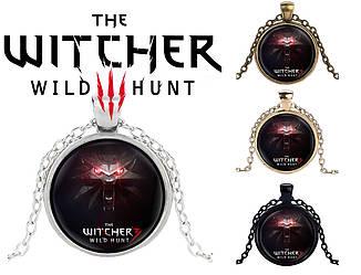 Кулон Ведьмак The Witcher с головой волка классический