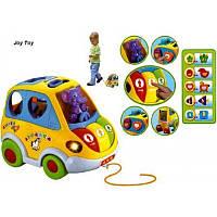 Розвиваюча іграшка-сортер логічна гра Автошка JT 9198