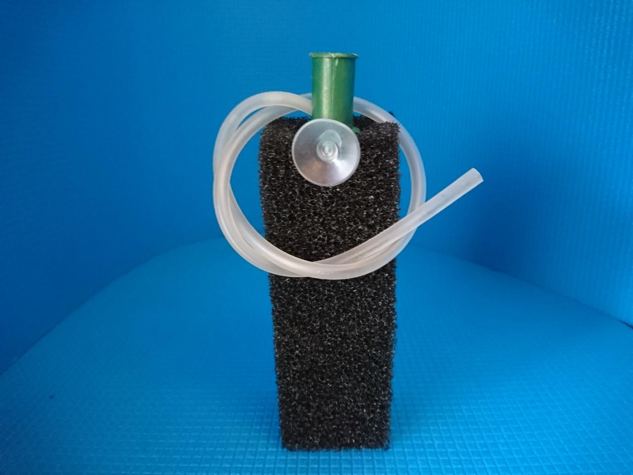 Фильтр для компрессора, размер мелко пористой мочалки (5*5*15)см