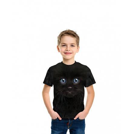 3D футболка для мальчика The Mountain р.M 7-10 лет футболки детские 3д (Черный Котенок), фото 2