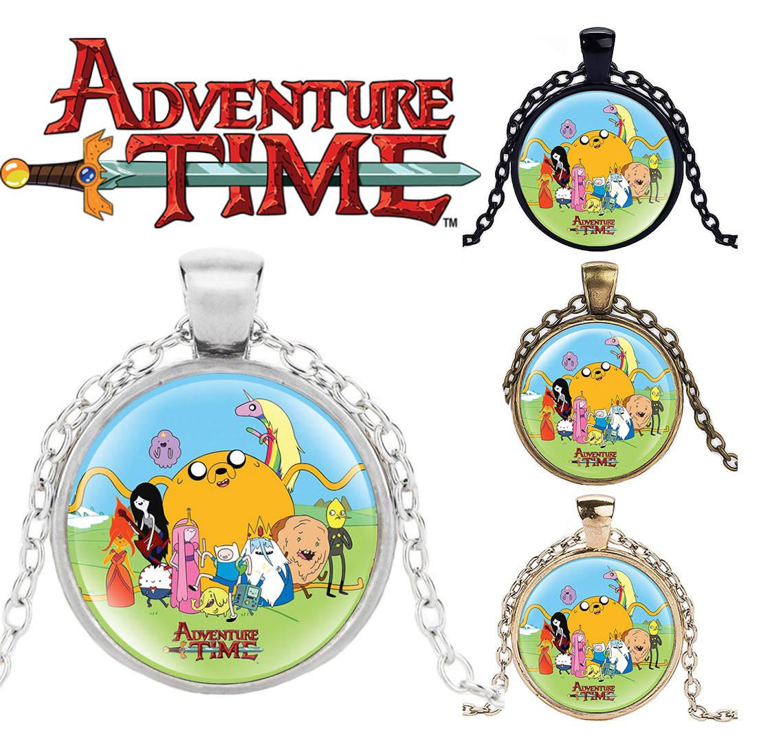 Кулон Adventure time панорамный Время приключений