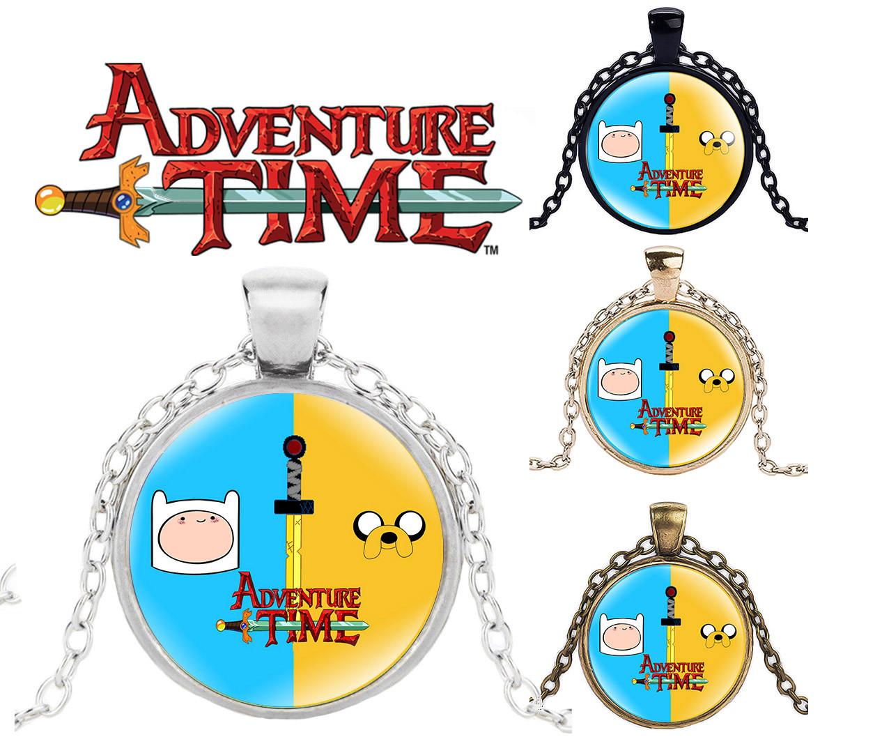 Кулон Adventure time героический Финн Время приключений