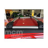 Поперечный багажник на интегрированые рейлинги под ключ (2 шт) - Opel Astra J 2010+ гг.
