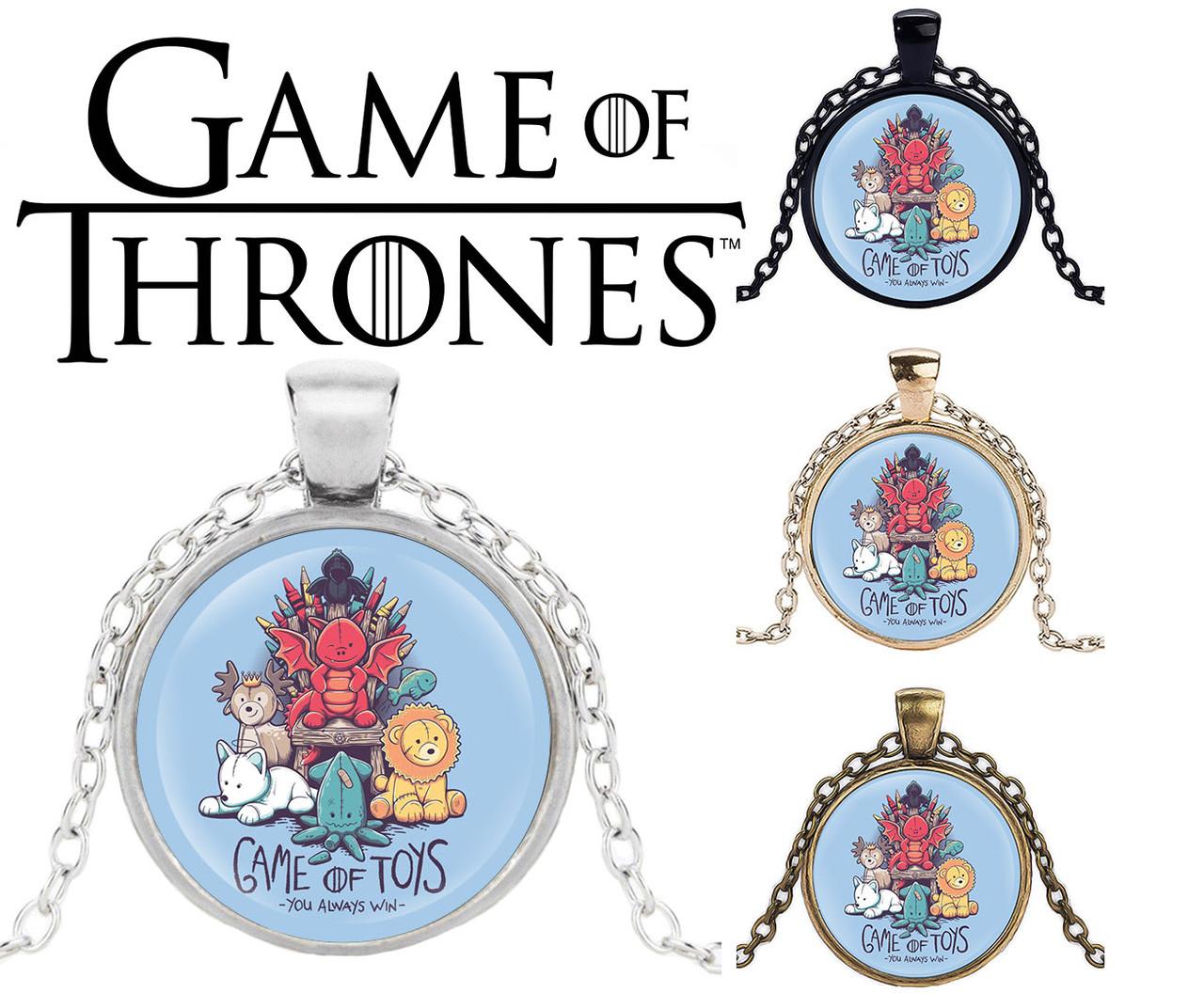 Кулон Game of Toys по мотивам Game of Thrones Игра Престолов