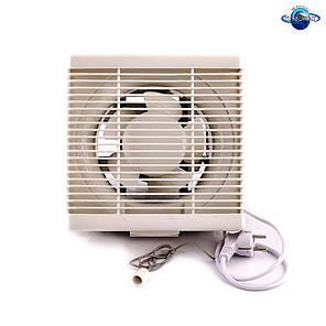 Осьовий витяжний віконний (форточный) вентилятор Турбовент АРВ 15-3-I, фото 2