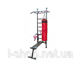 Шведская спортивная стенка «Fitness Pro m.3» (Black), фото 3