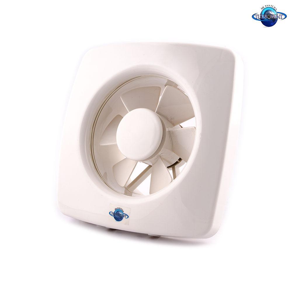 Осевой оконный (форточный) вентилятор с диафрагмой Турбовент АРС 15-3-В