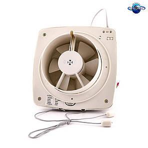 Осевой оконный (форточный) вентилятор с диафрагмой Турбовент АРС 15-3-В, фото 2