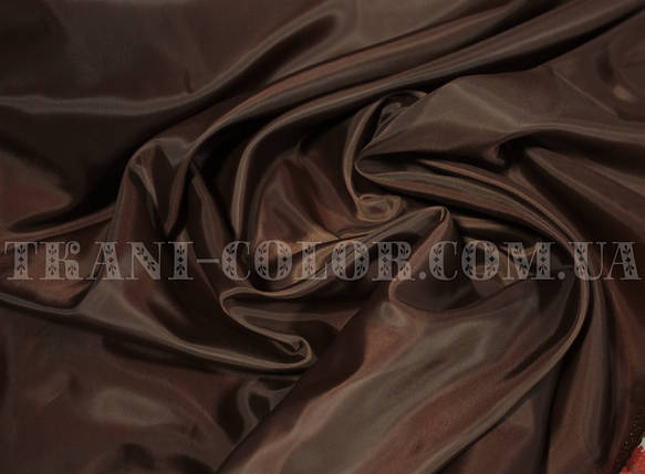 Подкладочная ткань нейлоновая шоколад (Европа), фото 2