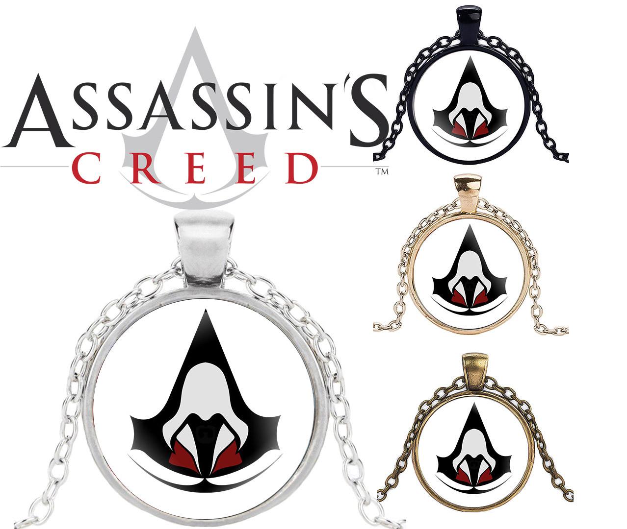 Кулон Assassin's Creed Кредо Ассасина Символ Ассасинов
