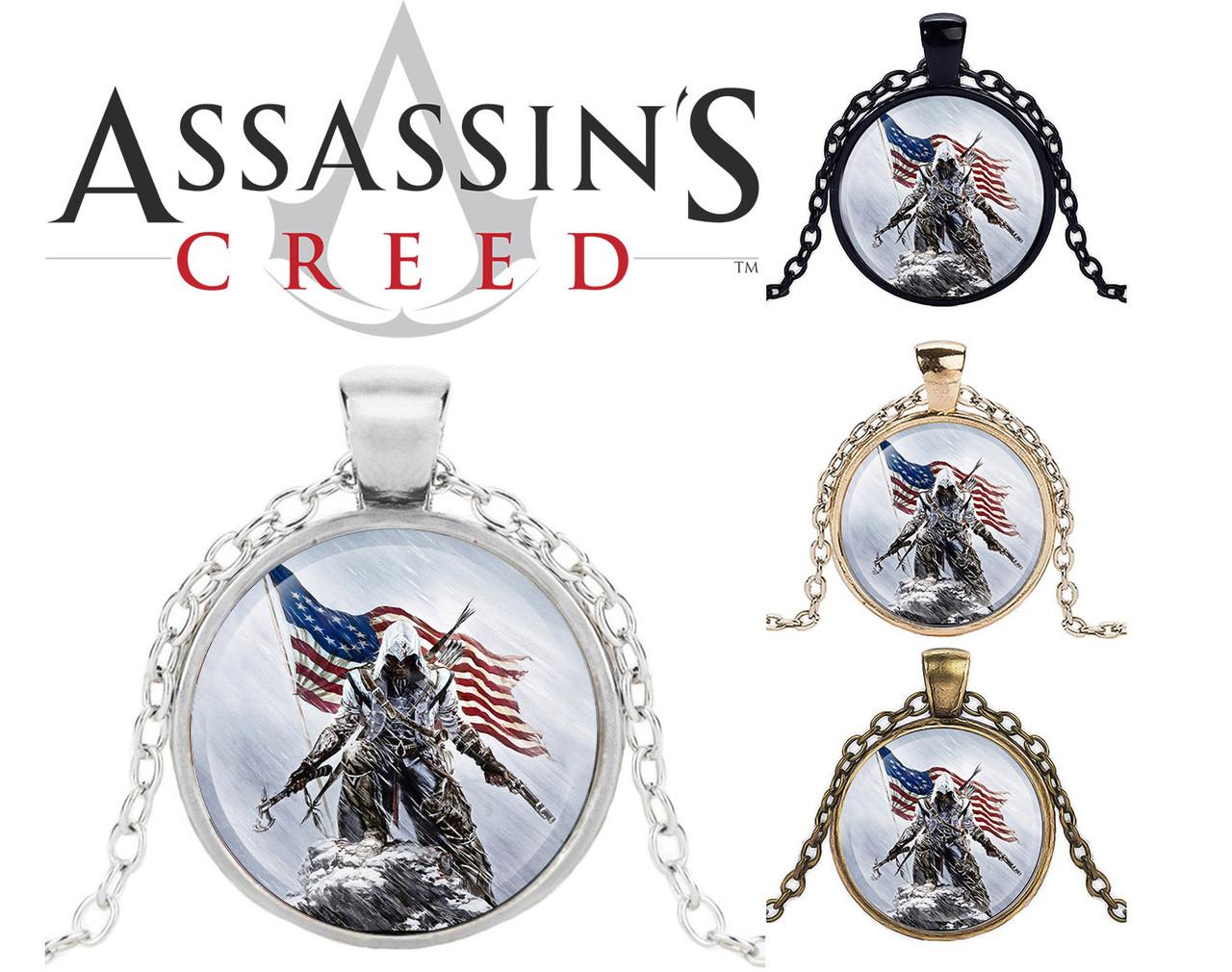 Кулон Assassin's Creed Кредо Ассасина Дезмонд Майлс Америка