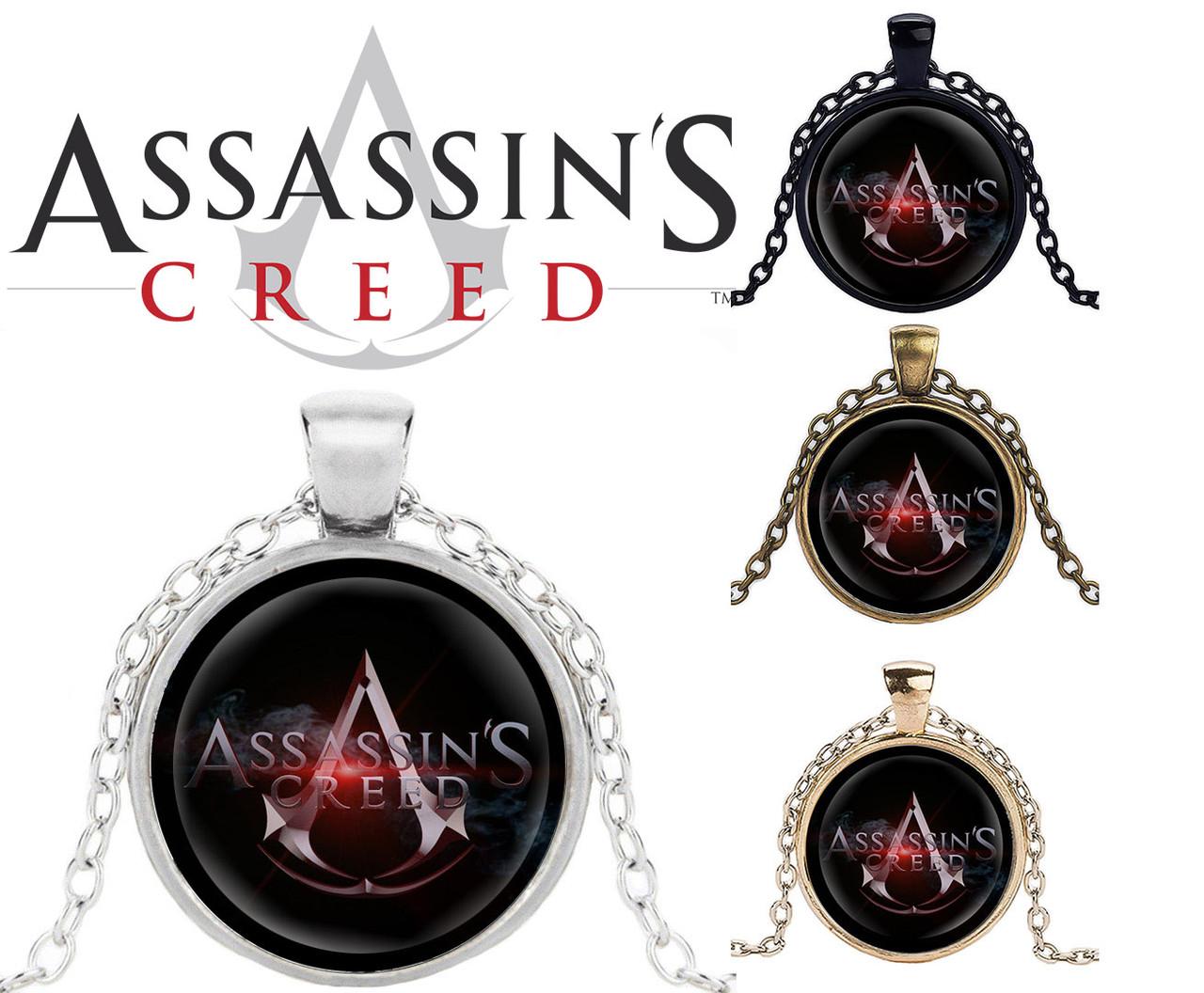 Кулон кредо Ассасина Assassin's Creed Кредо Ассасина Black Edition