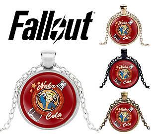 Подвеска стеклянная Fallout Nuka Cola