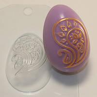 Пластиковая форма для мыла яйцо пейсли