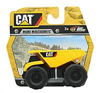 """Самосвал. Мини-машина """"Строительная техника""""  CAT (1 шт). ОРИГИНАЛ Toy State"""