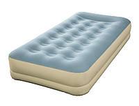 Надувная кровать Bestway 69001 Refined Fortech, 191х97х33см, встроенный электронасос, фото 1