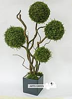 Деревья из лесного мха 60 cm