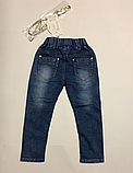 Джинсы для девочек р.104 см, фото 3