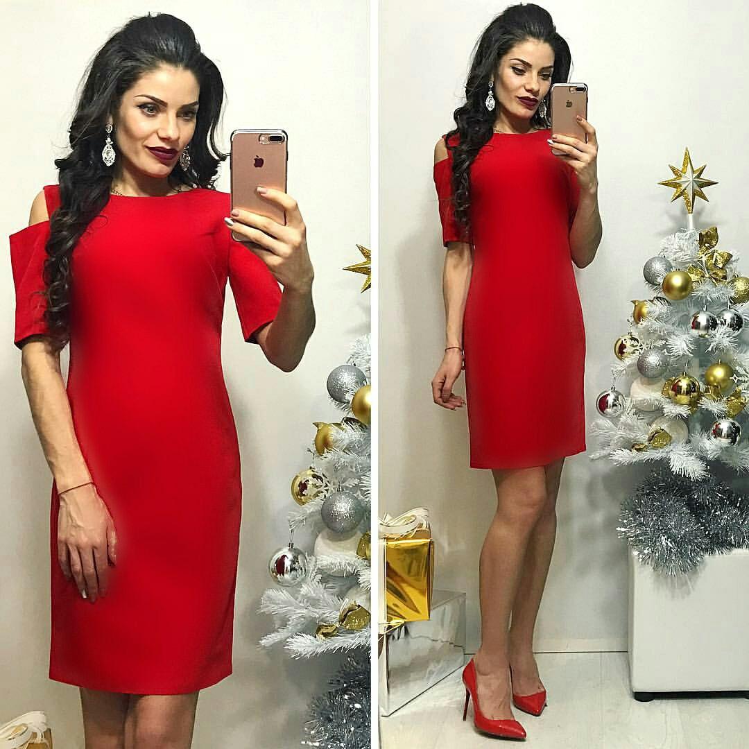 Платье, модель 766, цвет - красный