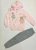 Спортивный костюм для девочек 4-8 лет, фото 1