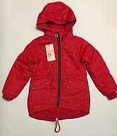 Куртка для девочек 98-128 см