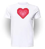 Футболка GeekLand Майнкрафт Мinecraft heart MC.01.003