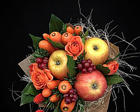 Фруктово-овощной букет, оригинальный подарок