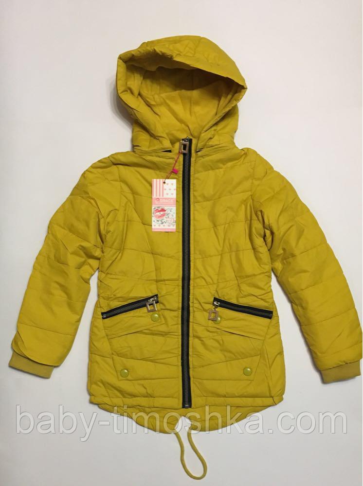 Куртка-парка для девочек 152 см