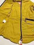 Куртка-парка для девочек 152 см, фото 3