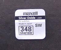 Батарейка Maxell Silver Oxide 348 (SR421SW)