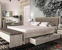 """""""Мілана"""" Ліжко з ДСП/МДФ в спальню 160 Сокме"""