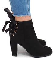Красивые женские ботиночки на каблучке