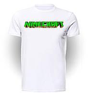 Футболка GeekLand Майнкрафт Мinecraft надпись MC.01.002