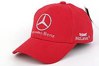 Кепка с автомобильным логотипом Mercedes-Benz