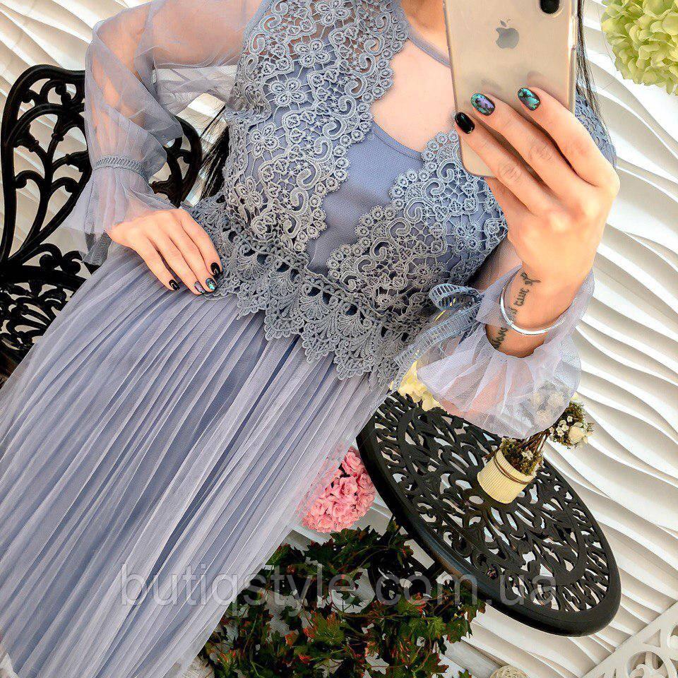 e93c87ee1d6 Шикарное женское платье миди шифон и дорогое кружево только молоко ...