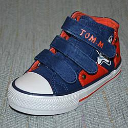Высокие кеды на мальчика, Tom.M размер 25 26
