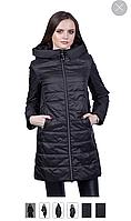 Весенняя куртка Clasna CW18C-021CW black черная S, M, фото 1