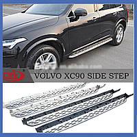 Volvo XC90 2015+ гг. Боковые пороги Оригинал (2 шт)