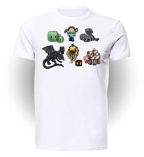 Футболка GeekLand Майнкрафт Мinecraft monsters MC.01.013