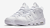 Женские кроссовки Nike Air More Uptempo Triple White 921948-100