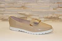 Туфли женские бежевые Т896 р 37 38 39 40 41
