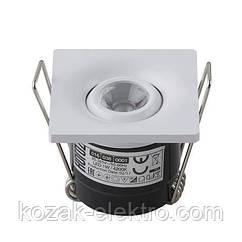 Светильник точечный LAURA - 1 Вт  LED