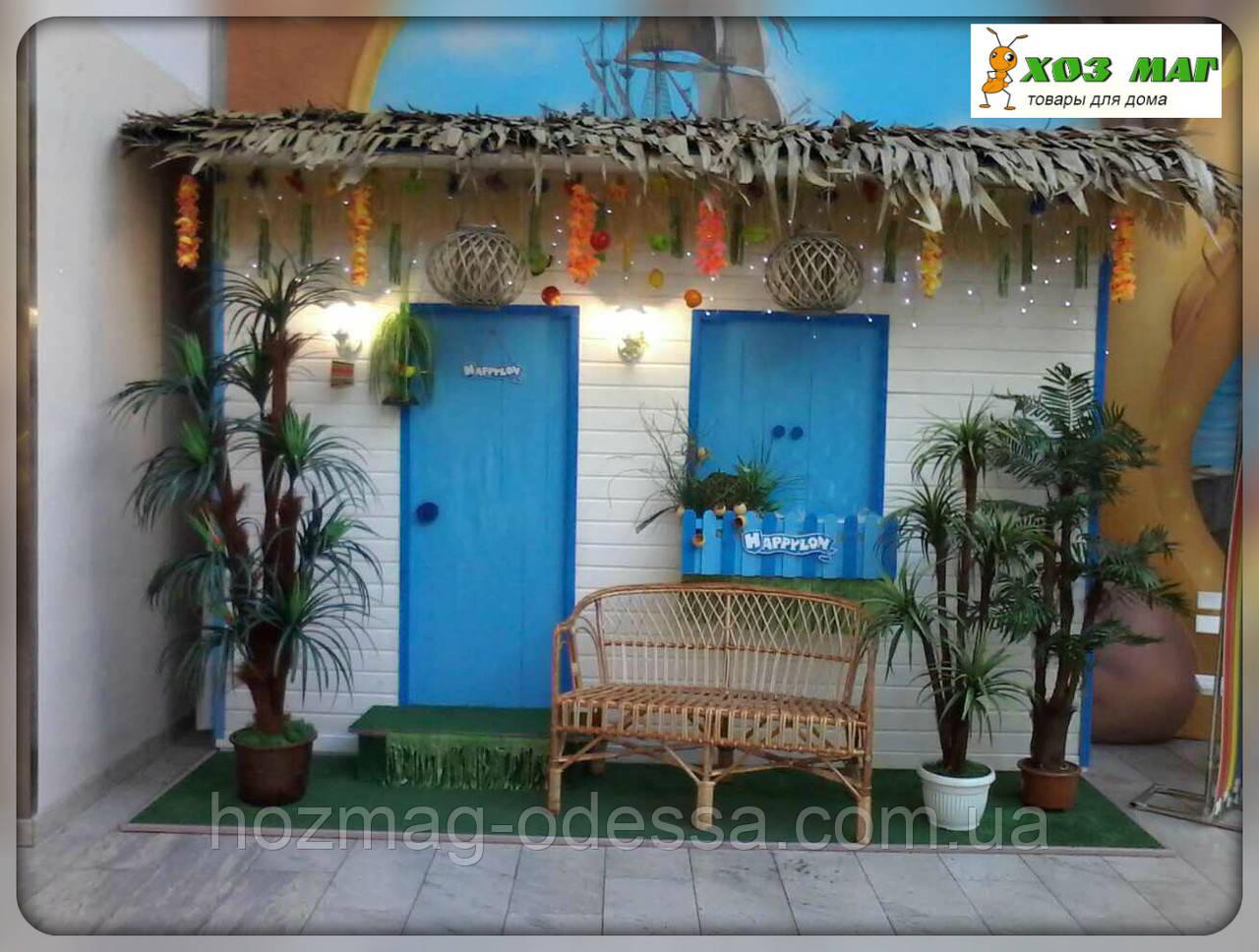 Планшет из листьев кокосовый пальмы с полипропиленовой лентой
