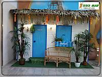 Планшет из листьев кокосовый пальмы с полипропиленовой лентой, фото 1