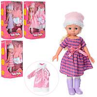 Кукла классическая Белла, закрывает глаза, длинные густые волосы для причесок, расческа, зимняя одежда, R202F