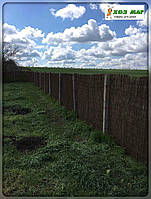 Забор из хвороста,1,5х5м